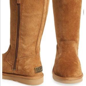 Ugg Sumner Boots | Chestnut Zipper Authentic
